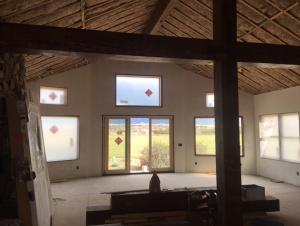 Rebuilding cabin in Ennis