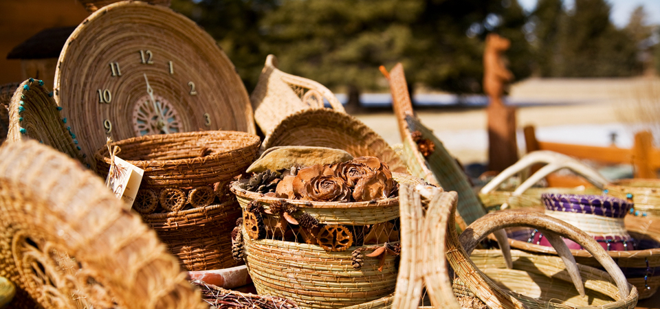 Pine Needle Baskets
