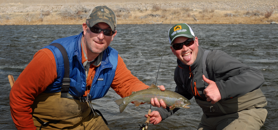 Madison river fishing rates rainbow valley lodge for Ruby river fishing report