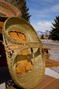Woven Pine Needle Baskets