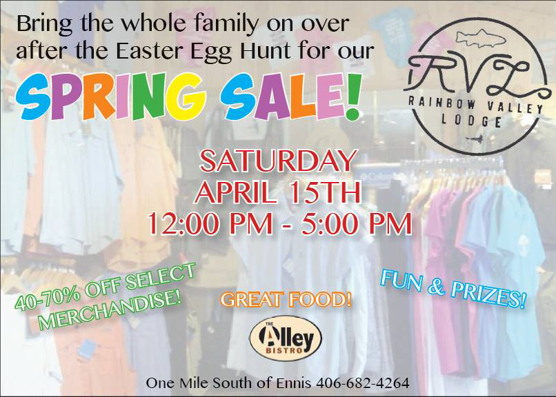 Spring Sale at the Rainbow Valley Lodge