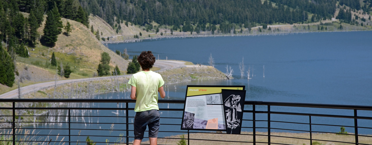 Earthquake-Lake-Visitor-Center