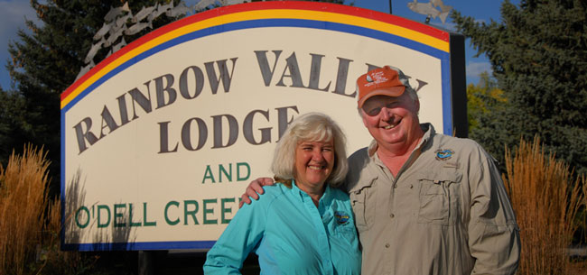 Contact Ed and Jeanne Williams of the Rainbow Valley Lodge in Ennis Montana