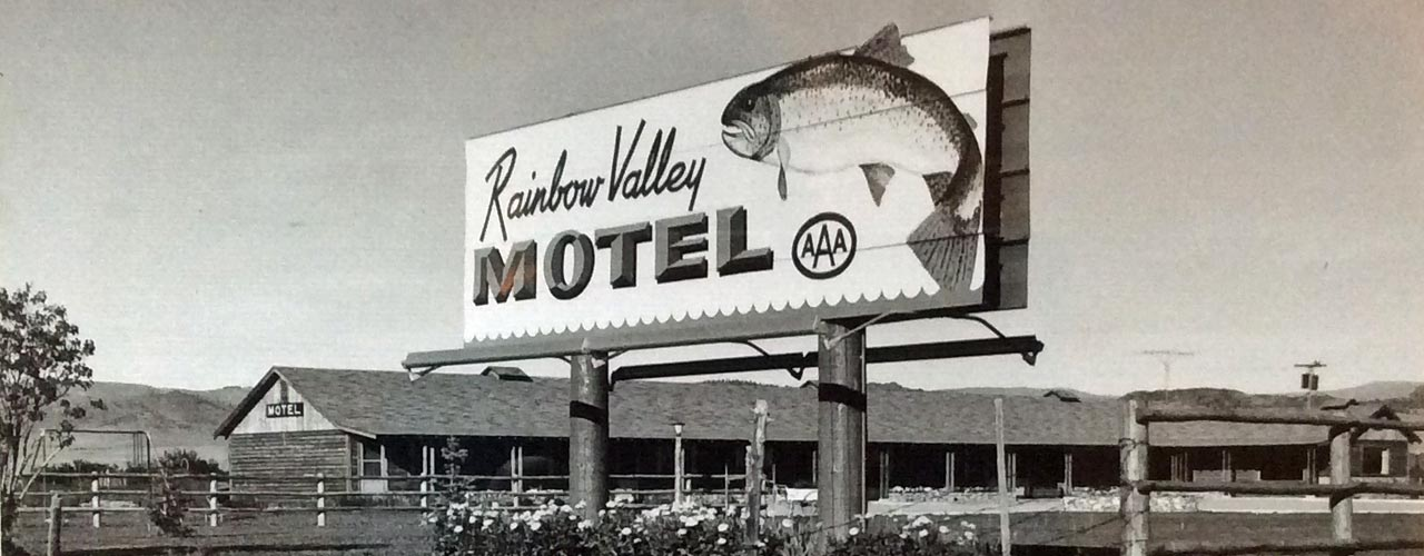 Rainbow Valley Motel in Ennis Montana