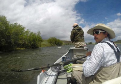 Fishing the Madison River From a Drift Boat