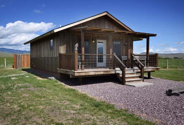 The Trapper Cabin exterior shot
