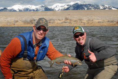 Fishing Packages at the Rainbow Valley Lodge in Ennis Montana