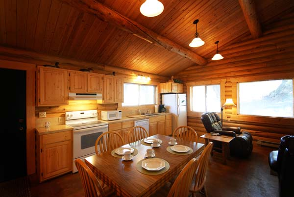 Ennis Montana lodging option, the Double Buck Cabin